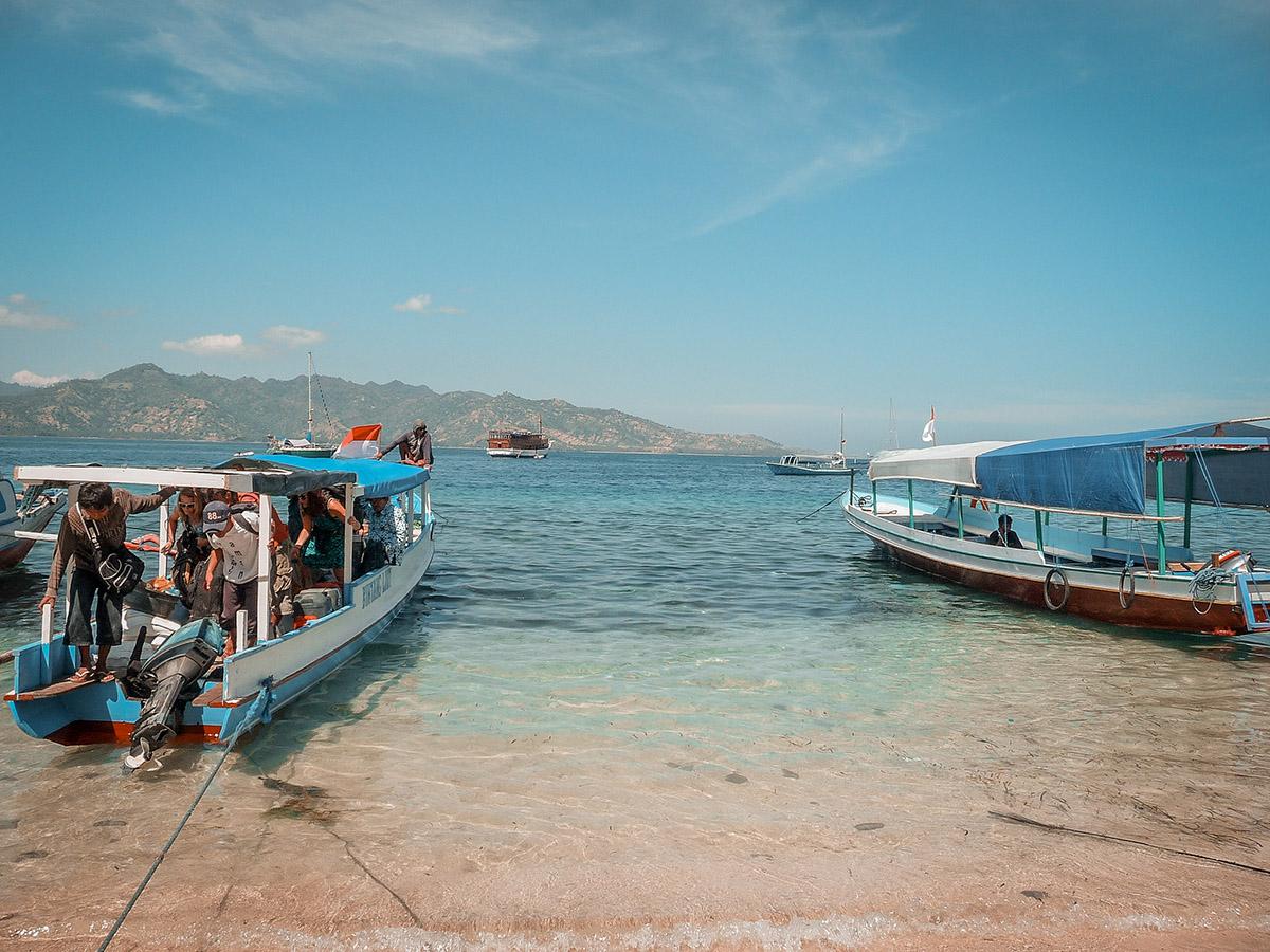 Isole Gili la guida pratica, fastboat a Gili Air