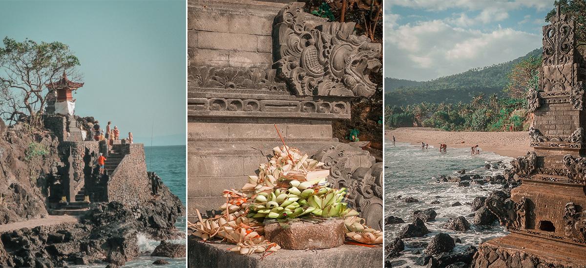 Il tempio induista di Batu Bolong