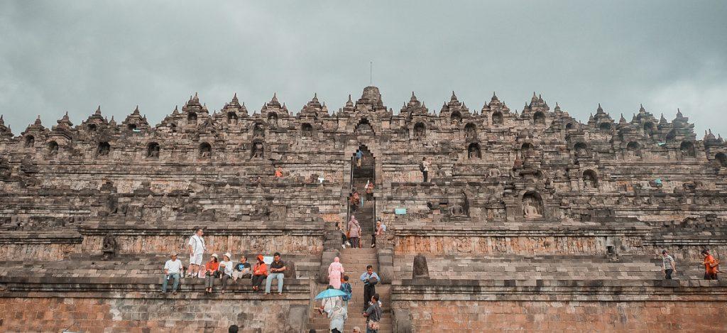 Il tempio di Borobudur. Itinerario in Indonesia: da Java alle Gili