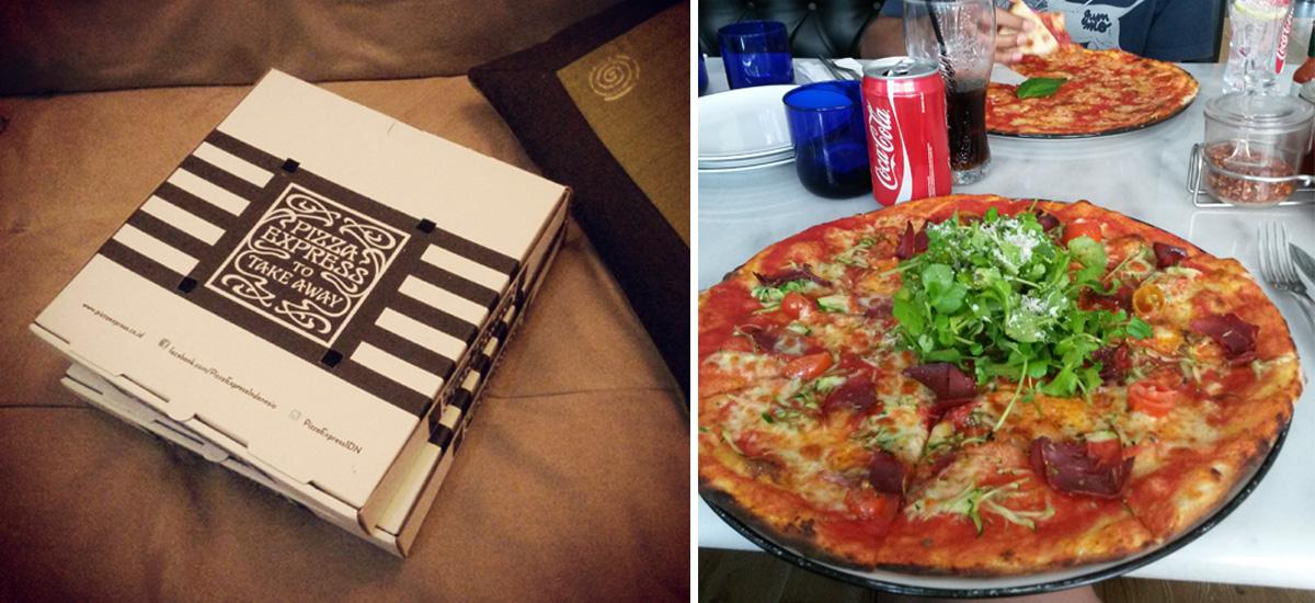 Il take away e il tipo di pizza di Pizza Marzano