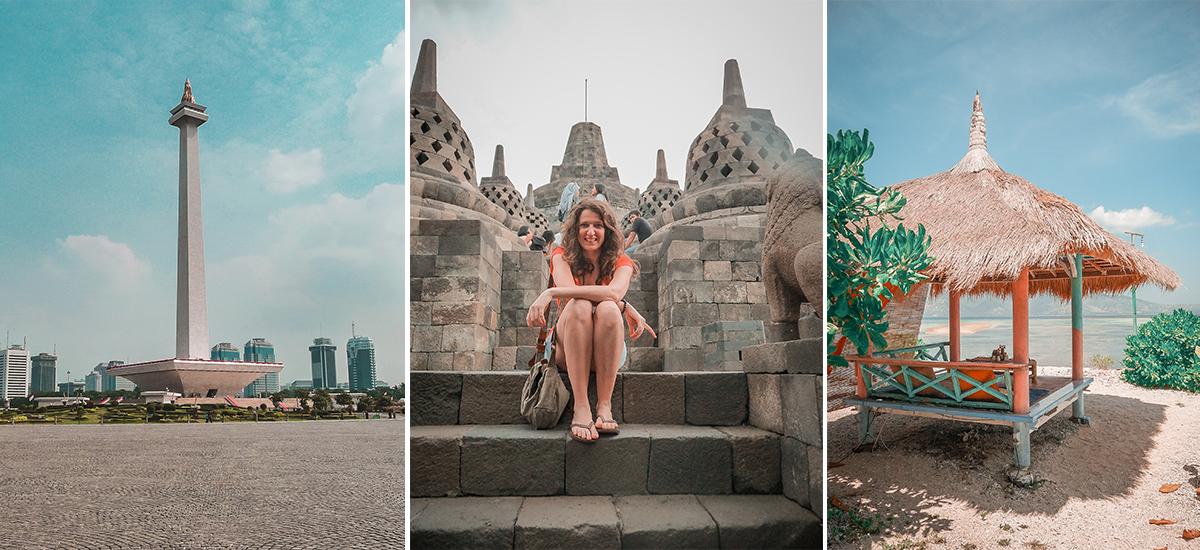 Isola di Java, itinerario.