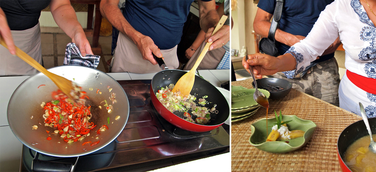 Un workshop di cucina (foto © Paon Cooking Class)