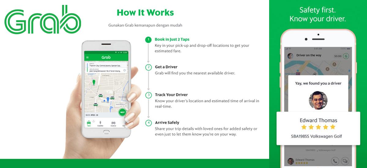Applicazioni Grab e Gojek per muoversi in Indonesia