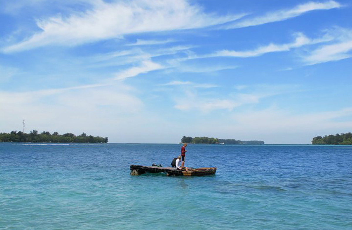 La vista delle Seribu Islands (foto © Pulau Macan Resort)