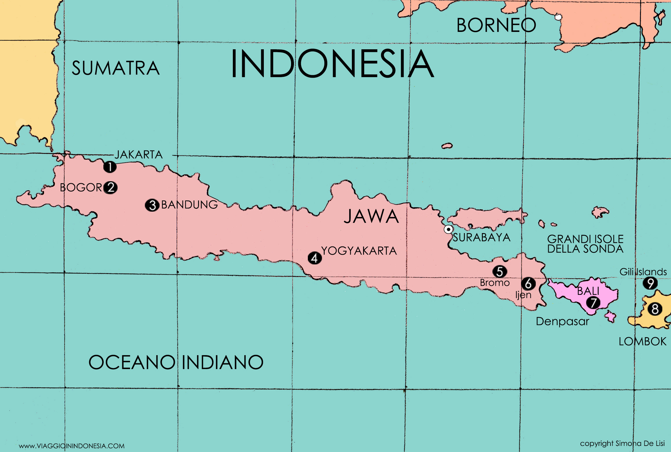 Itinerario in Indonesia: da Java alle Gili