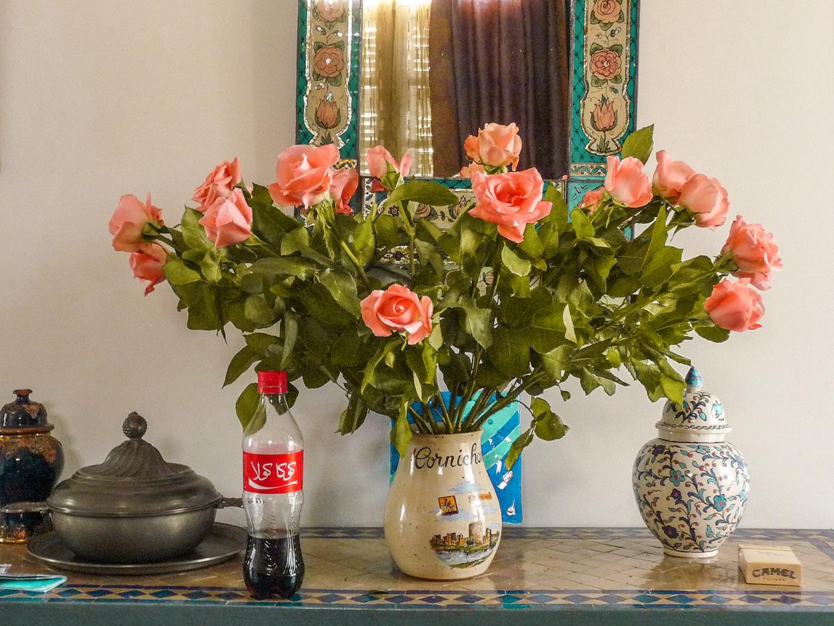 Le rose marocchine dopo il nostro incontro