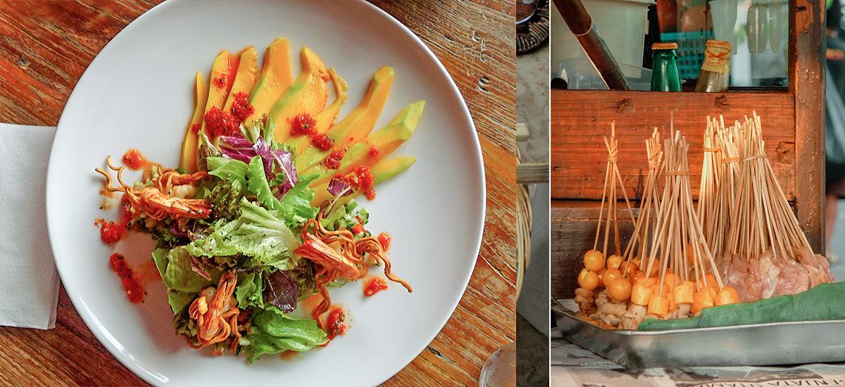 Dai piatti creativi allo street food tradizionale
