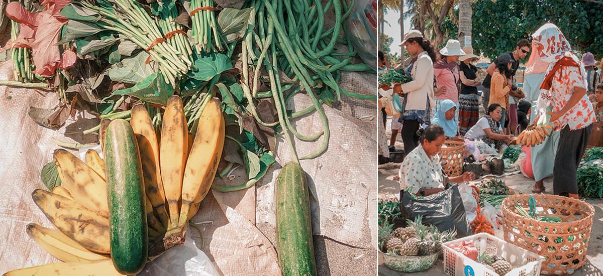 L'atmosfera di un mercato tradizionale