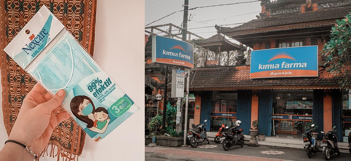 Le mascherine in vendita nelle farmacie, consigliate per i tragitti in scooter