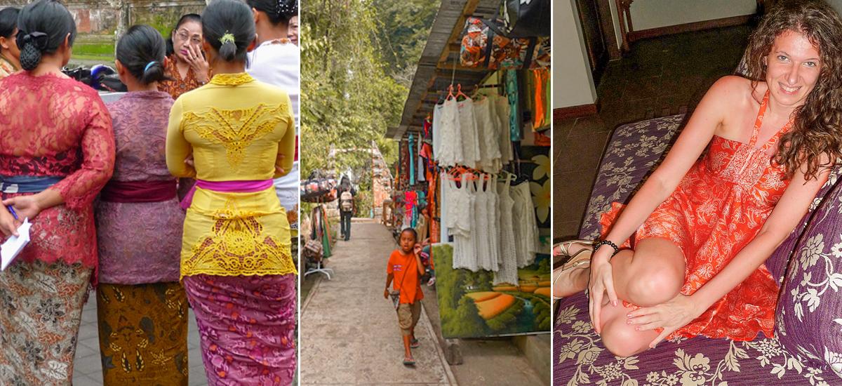 Cose belle da comprare: i kebaya, i sarong, i top all'uncinetto e gli abitini di seta stampata