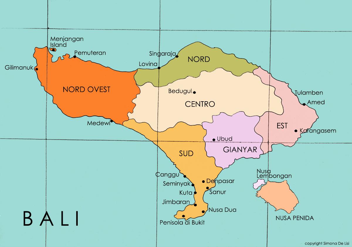 Cartina Bali Indonesia.Il Sud Di Bali La Guida Completa Alla Scoperta Delle Principali Destinazioni