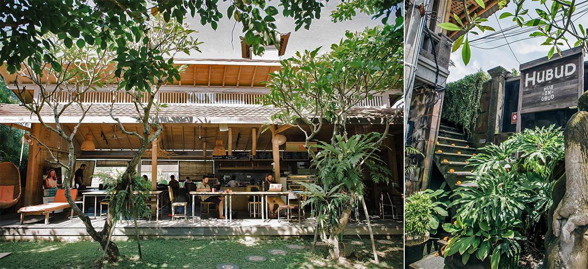 Il co-working space di Hubud a Bali (foto @ Hubud)