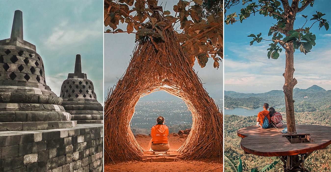 Borobudur e Prambanan