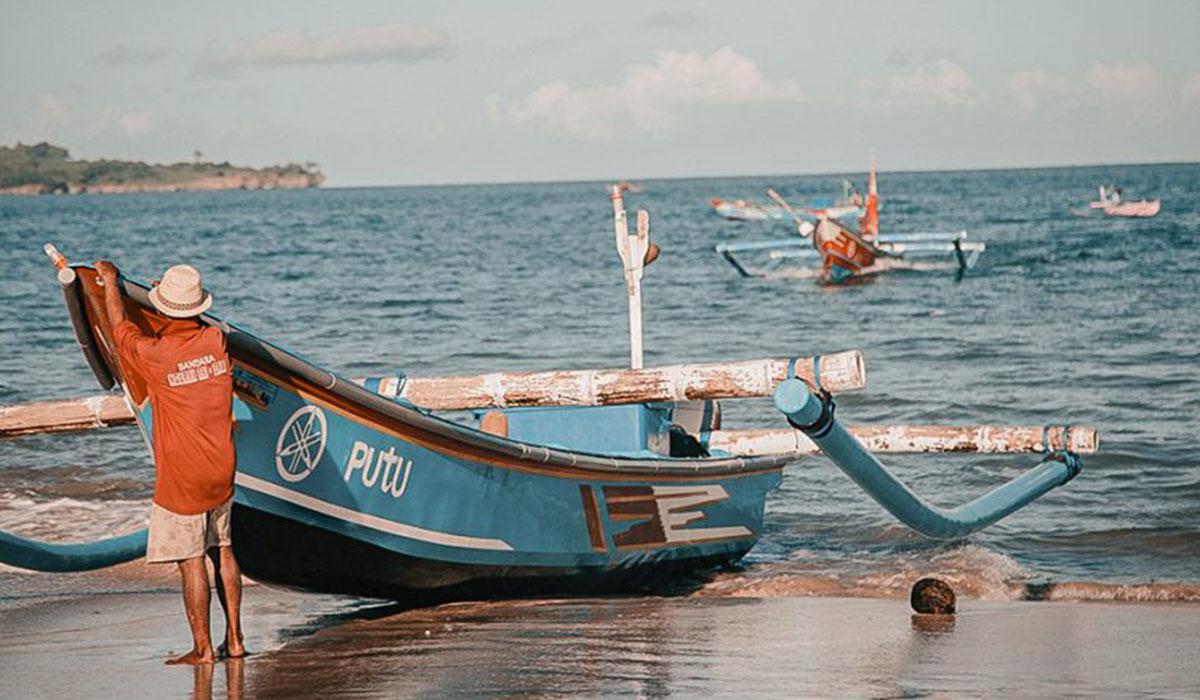 Jimbaran, la costa vicina a Nusa Dua