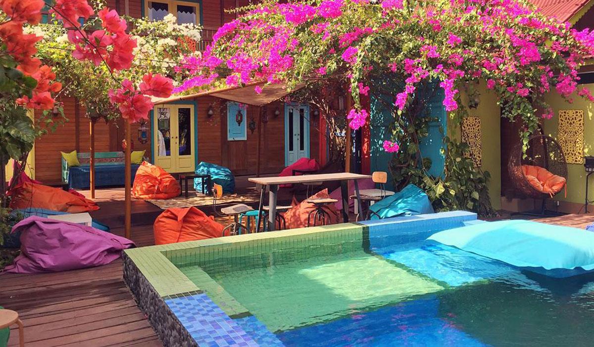 Hotel a Gili Trawangan, il Bleu Verde