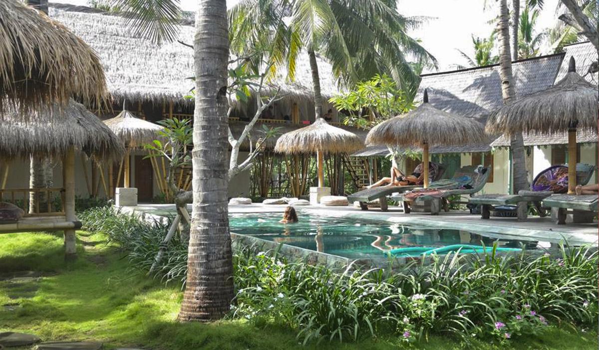 Hotel a Gili Air, il Captain Coconuts