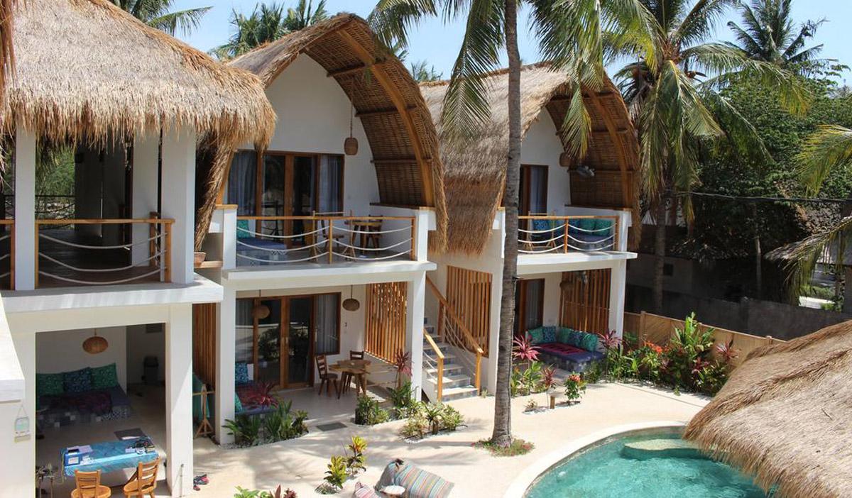 Hotel a Gili Trawangan, il Coco Cabana.