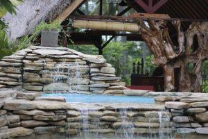 Hotel a Gili Air, la cascata del Dolcemare Resort
