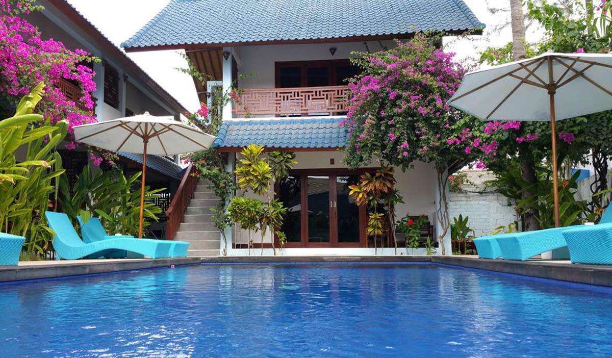 Hotel a Gili Trawangan, il Marygio Resort