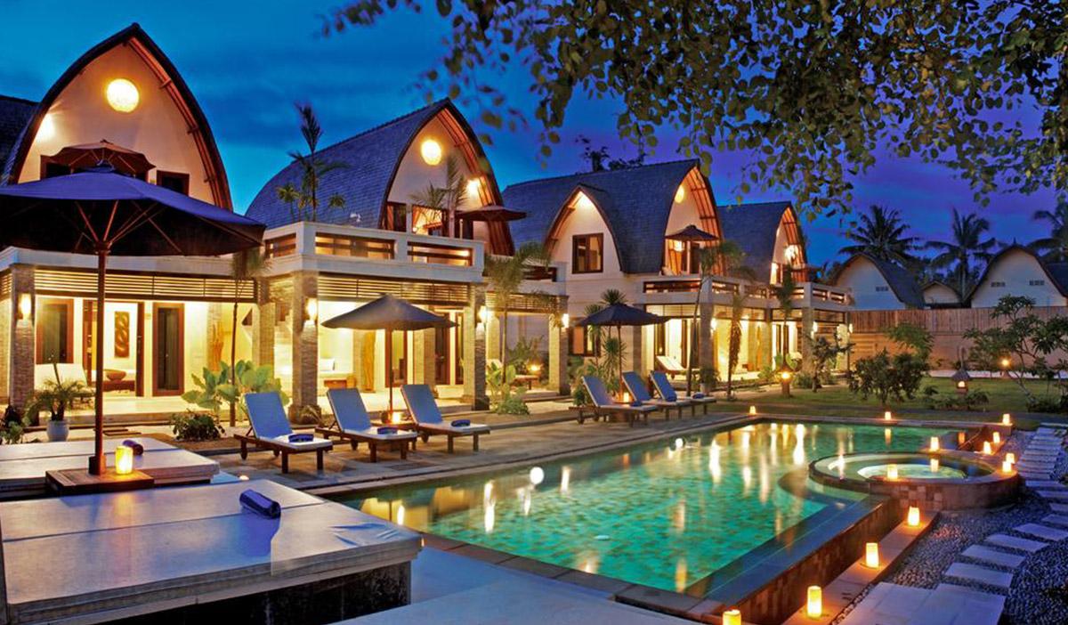 Hotel a Gili Trawangan, il Pearl of Trawangan