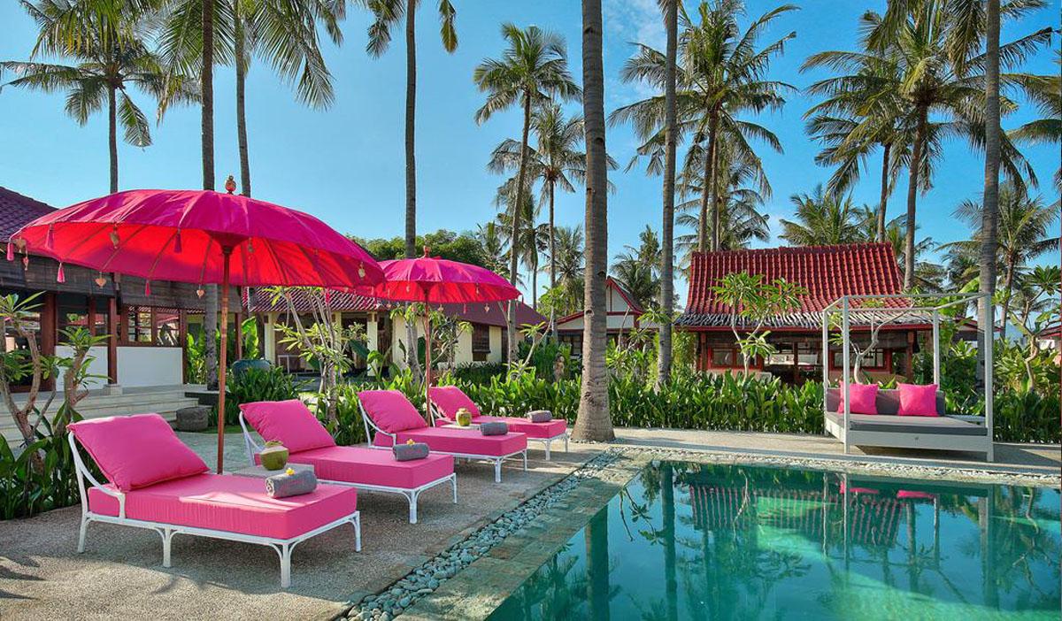 Hotel a Gili Air, il PinkCoco