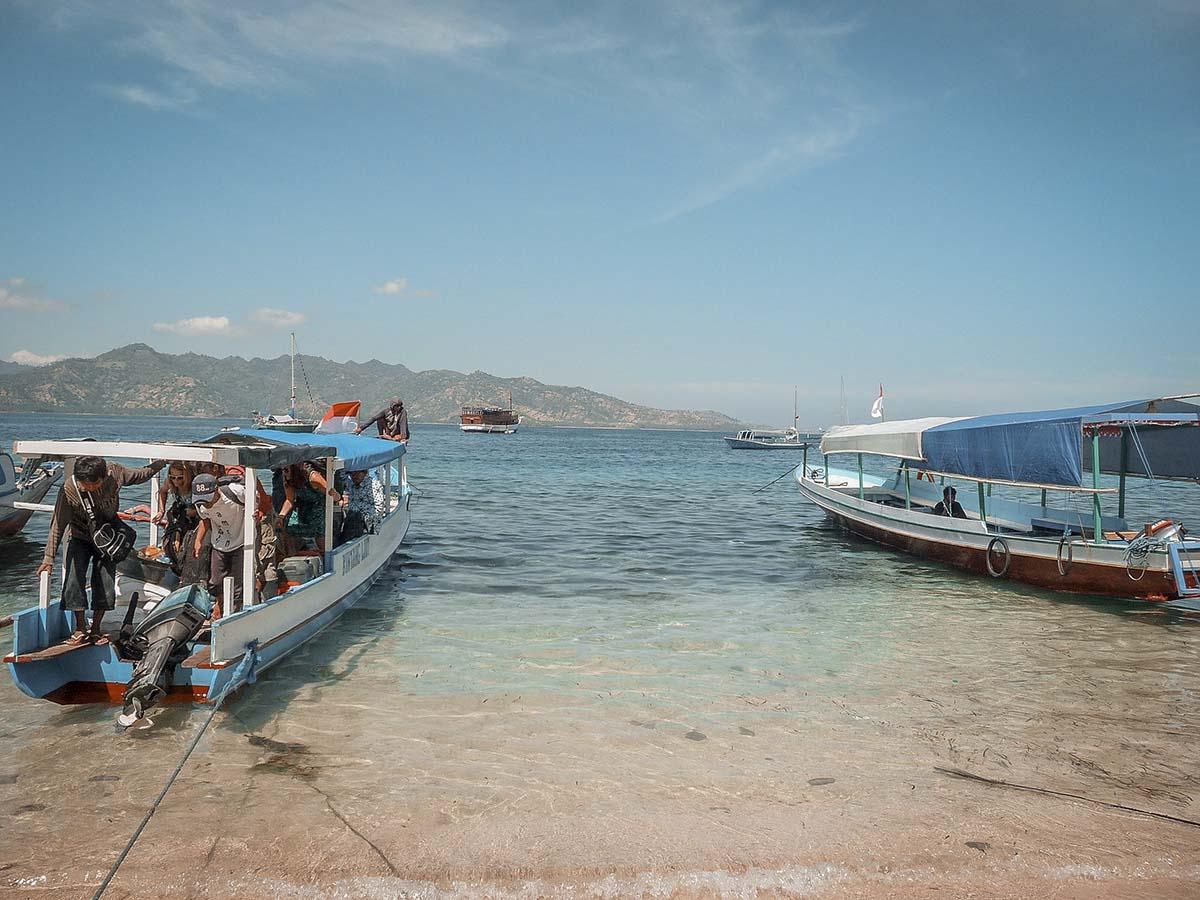 come arrivare alle isole gili in fastboat da Nusa Penida