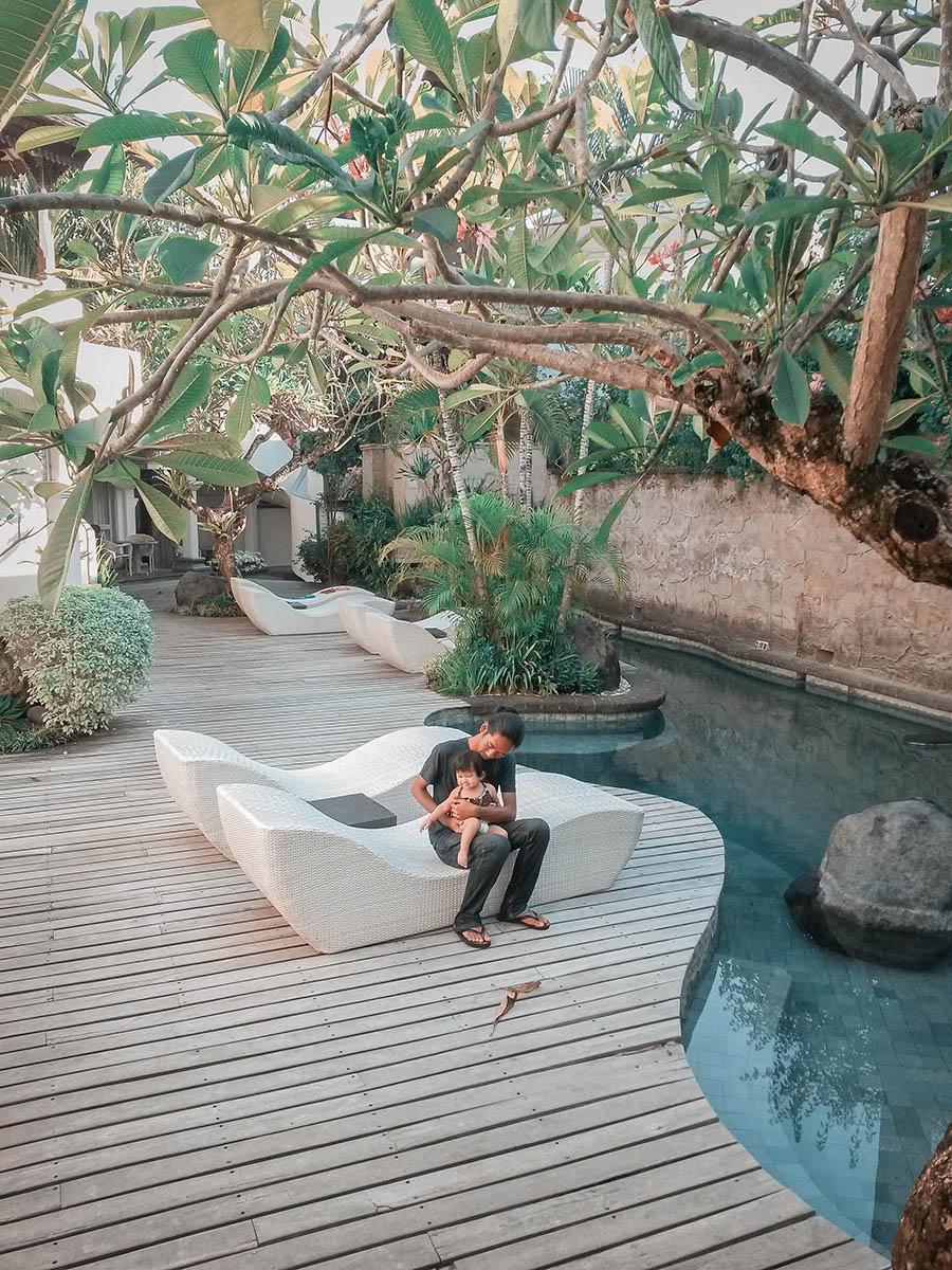 Un resort di Seminyak a Bali