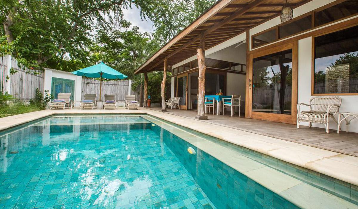 Hotel a Gili Trawangan, il Wilson's Retreat