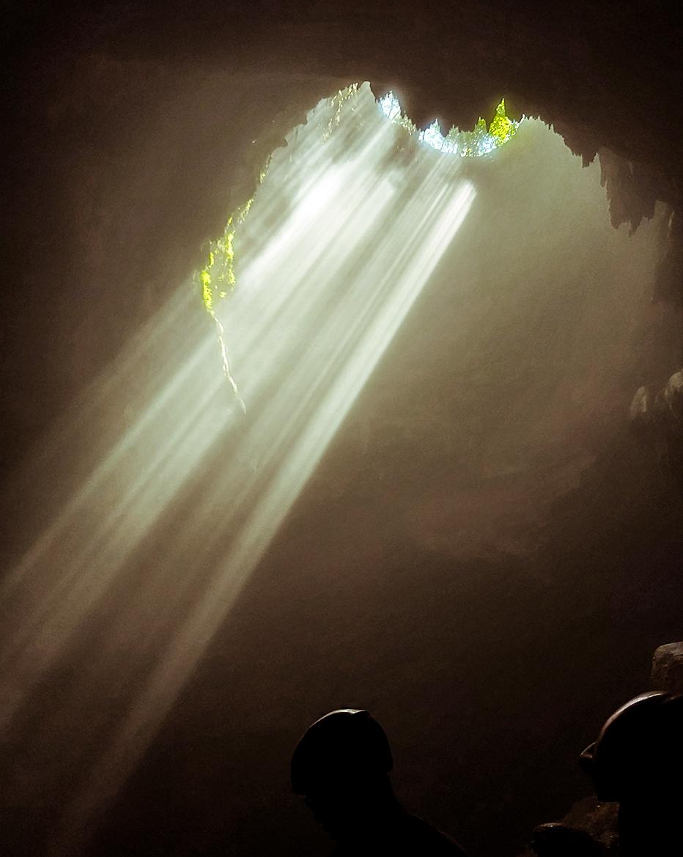 Goa Jomblang, la luce dall'alto