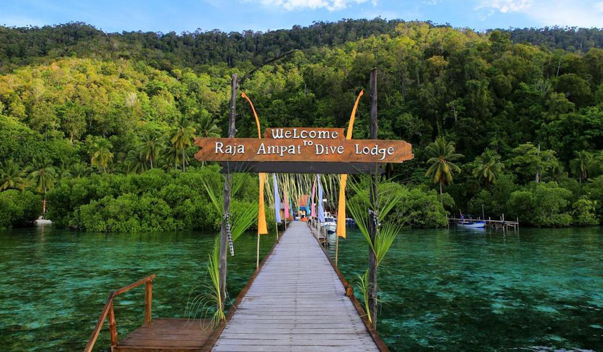 Il resort Raja Ampat Dive Lodge, tra i migliori resort per immersioni