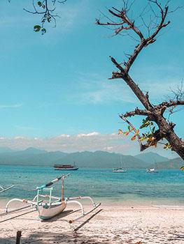 Viaggio In Indonesia. Una barca tipica delle isole Gili!