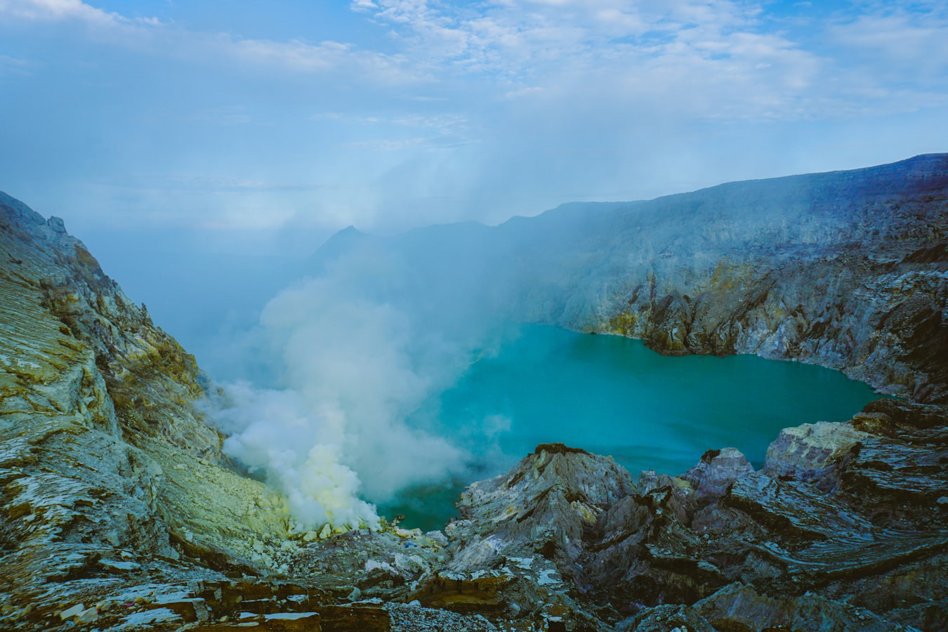 Il vulcano Ijen in Indonesia. Itinerario in Indonesia: da Java alle Gili.