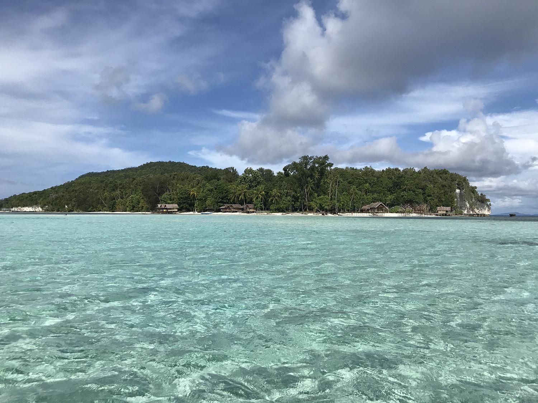 L'acqua cristallina di Raja Ampat