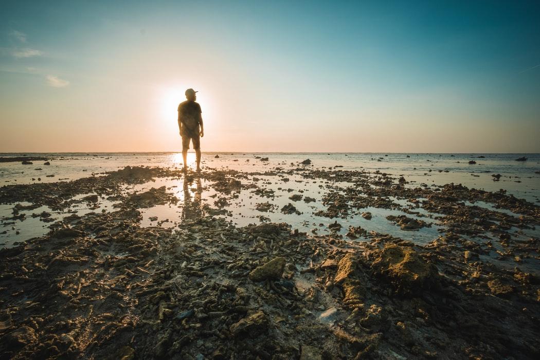 Il momento della marea a Gili Trawangan