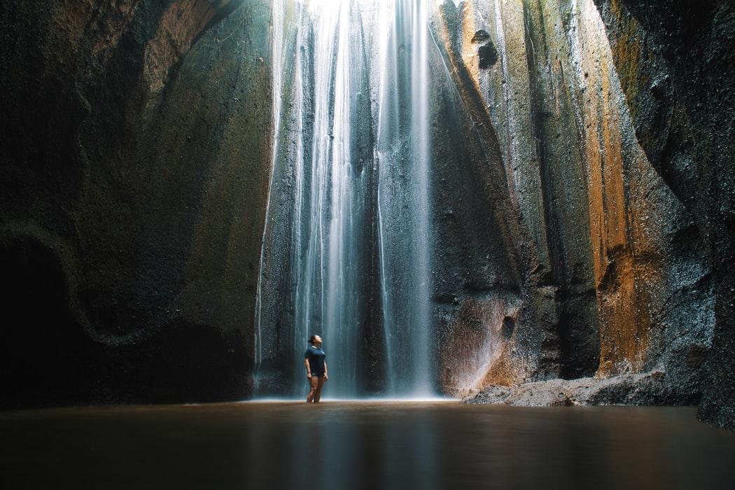 Le cascate di Tukad Cepung