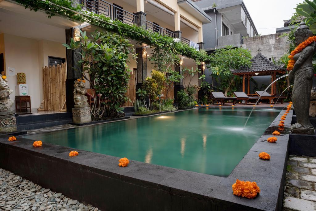 Hotel a Ubud, l'Alam Pangkung.