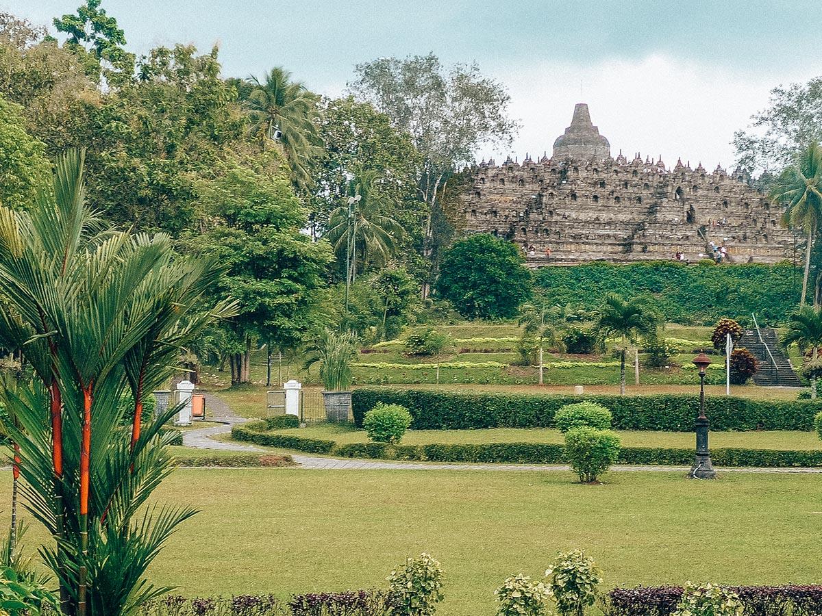 I giardini di Borobudur a Java
