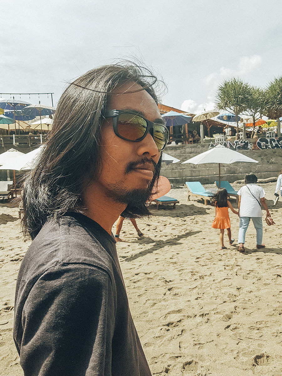 Canggu, spiaggia di Batu Bolong.